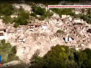 Cutremur in Italia. Bilantul victimelor a fost revizuit la 241 de morti. Un nou seism s-a produs joi dupa-amiaza