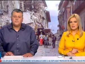 Sase romani au murit in cutremurul din Italia si 17 sunt dati disparuti
