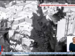 Cutremur in Italia: 281 de morti, peste 1.000 de replici seismice. In Amatrice nu mai exista nicio cladire locuibila