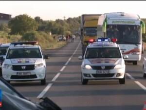 Doi morti dupa un accident grav in Neamt, provocat de un motociclist. Barbatul se angajase intr-o depasire riscanta