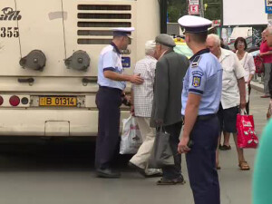 politisti, trecere neregulamentara