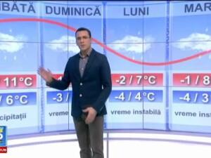 Prognoza meteo pana marti