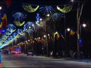 Luminile din Bucuresti vor putea fi admirate anul acesta pe un traseu de 29 de kilometri. Cate beculete au fost aprinse
