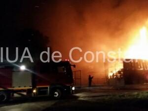Incendiu Agigea