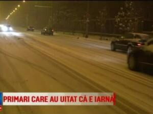 Iarna grea in Baia Mare. Din cauza strazilor necuratate de gheata, zeci de persoane au ajuns la spital cu fracturi
