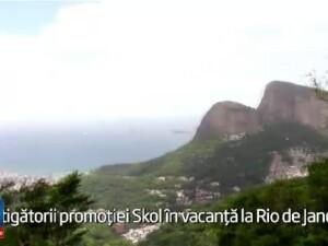 (P) Skol si-a premiat consumatorii cu o excursie acolo unde iarna e ca vara: Rio de Janeiro