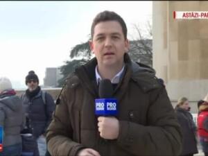 Romania da maine testul alegerilor in diaspora. Vitalie Cojocari, corespondentul Stirilor ProTV, transmite de la Paris