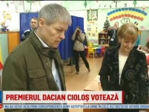Dacian Ciolos: Cel mai important este sa iasa cat mai multa lume la vot
