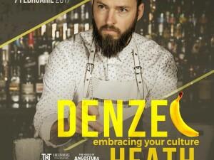 Breasla Barmanilor se reuneste luna aceasta la Cluj la MasterClass-ul sustinut de Denzel Heath, unul dintre cei mai cunoscuti barmani din lume
