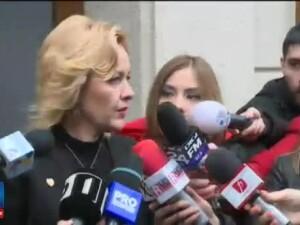 Ministrul de Interne, Carmen Dan, audiat la DNA. Teodor Melescanu urmeaza sa ajunga si el in fata procurorilor