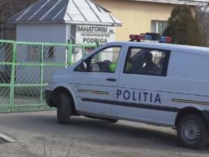 politie la sanatoriu