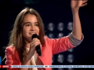 Vocea Romaniei Junior, prima editie. Cine sunt concurentii care i-au impresionat pe Andra, Marius Moga si INNA