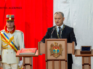 Igor Dodon, ceremonia de investire