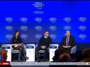 Matt Damon si Shakira, la Forumul Economic Mondial de la Davos. Subiectele abordate de vedete: apa potabila si educatie