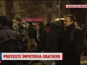 Mii de oameni au protestat in toata tara impotriva legii amnistiei si gratierii: Dragnea nu uita, Romania nu-i a ta