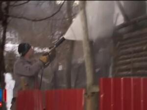 Incendiu puternic luni seara, la o casa din Bacau. Ce au descoperit pompierii dupa ce au stins flacarile
