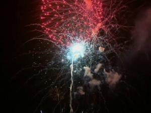 explozie artificii