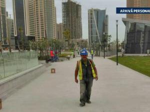 muncitori romani Qatar