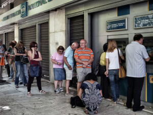bancomat Grecia - Getty