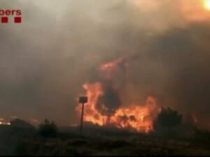 Incendiu Spania