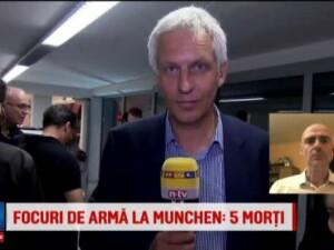 Analiza Catalin Radu Tanase privind atacul armat din Munchen