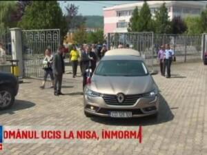Romanul mort in atacul terorist din Nisa, condus pe ultimul drum. Sotia si fiul sau se afla internati in Franta