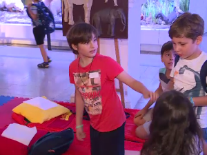 copii muzeu