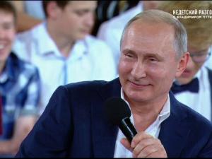 vladimir putin elevi rusia