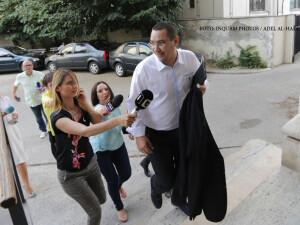 Victor Ponta soseste la ICCJ unde are loc un nou termen in dosarul Rovinari, vineri 24 iunie 2016
