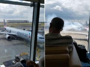 avion evacut