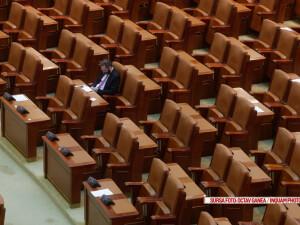 scaune goale in parlament