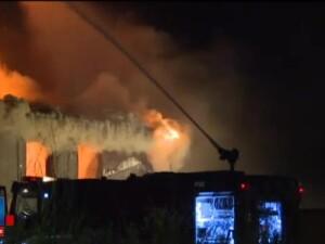 Final ingrozitor pentru barbatul cu handicap locomotor, prins de foc in vila din comuna Snagov