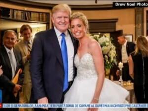 Donald Trump, invitat de onoare la nunta secretarului Trezoreriei. Ce spune presedintele despre secretul unui mariaj fericit