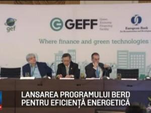 (P) BERD a lansat proiectul GEFF Romania, menit sa creasca eficienta energetica din casele romanilor