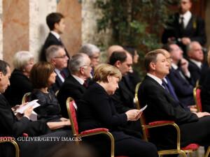 Iohannis si Merkel la Vatican