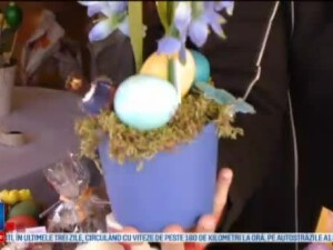Targul de Paste din Timisoara tine pana pe 18 aprilie. Avem pita de malai, cu amintiri din copilarie