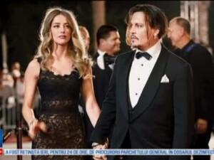 Amber Heard il acuza pe Johnny Depp ca a lovit-o cu telefonul mobil. A adus la tribunal fotografii in care apare cu vanatai