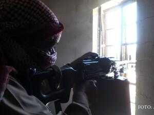 luptator jihadist al ISIS in Fallujah