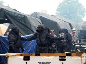exercitiu de aparare nucleara al armatei SUA