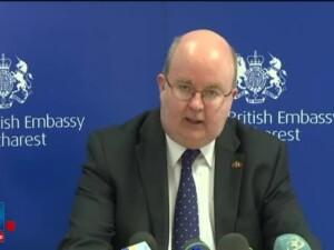 Carte de condoleante deschisa la Ambasada Regatului Unit la Bucuresti. Ramane spiritul de neinfrant al oamenilor