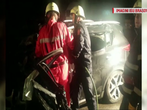 Accident la iesirea Brasov, spre Sighisoara