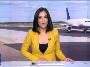 O aeronava Tarom care circula de la Frankfurt la Bucuresti a aterizat la Timisoara dupa aprinderea unui senzor de la bord