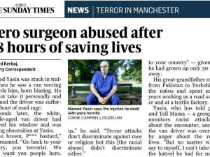 Naveed Yasin, Manchester, medic, atac terorist,