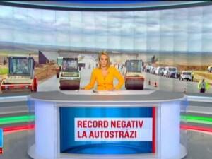 Record rusinos pentru Romania: minus 9 kilometri de autostrada in 2015. Cum s-a ajuns in aceasta situatie ridicola