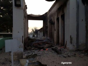 Spital bombardat in Afganistan