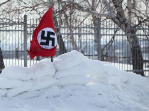 steag nazist in zapada - Shutterstock