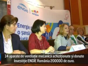 (P) Investitie ENGIE Romania: 14 aparate de ventilatie mecanica achizitionate si donate catre 4 spitale publice din Romania