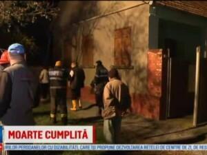 O batrana de 87 de ani, din Arad, a fost gasita decedata dupa ce i-a luat casa foc. Am spart geamul si am intrat cu galeata