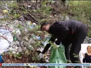 Lets do it Romania - Ziua Nationala a Curateniei. Voluntarii au adunat 7.000 de saci cu gunoaie doar in judetul Brasov