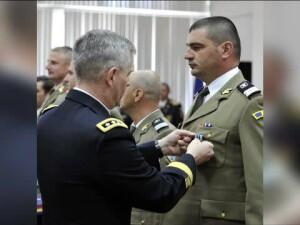 Militar roman ranit in Afganistan